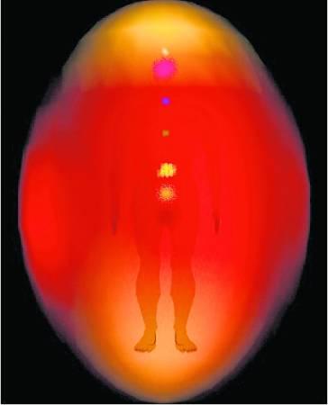 Lawrence 的第一张气场照,透亮着满满的红光,表示紧张、压力开始在形成。