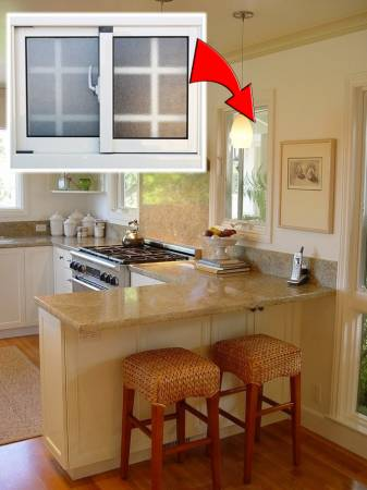 汤师父建议,若厨房有窗口就改成雾面窗贴,以防止财气外露。