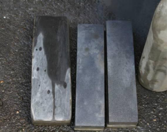 不同种类的刀子或剪刀,需配合不同大小的磨石才能达到良好的效果。
