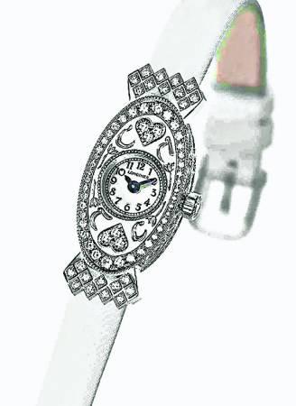 这款由著名品牌Longines 为她打造的结婚名表,世上仅有一只。