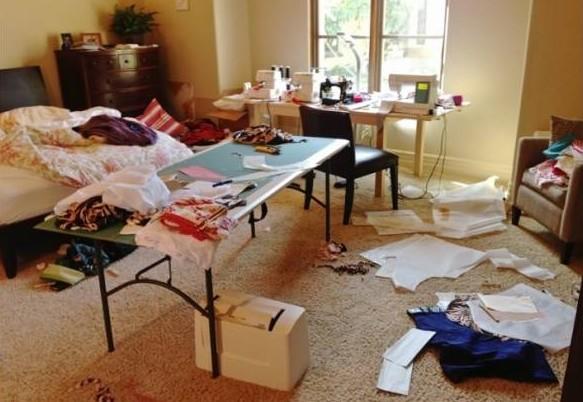 居家杂乱有损风水,财运更是受到影响,故因保持居家整洁。