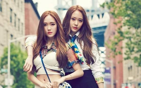 郑氏姐妹Jessica和Krystal是韩国娱乐圈中最出名的美女姐妹花。