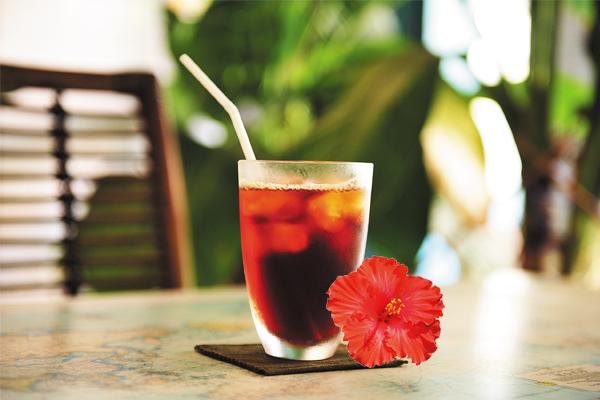 大红花咖啡。
