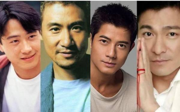 """当年叱咤中文乐坛的四大天王,如今全都成家立室,而且出奇地都是""""外父命""""——全都生了女儿。"""