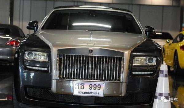 泰国土豪们炫富不靠豪车,而是车牌!尤其是号码999!