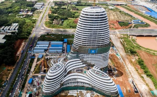 从其他角度看,广西新媒体中心大楼似乎又不一样了。