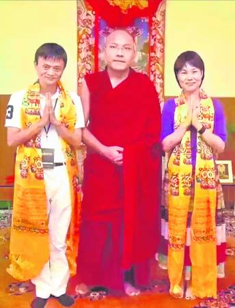 泰国佛牌在中国掀起热潮,马云夫妇亦慕名到佛寺去找高僧加持。
