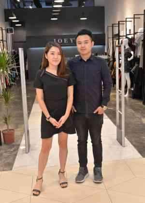 """林紫怡与合伙人杨名宇谈及自己的创业经验,两人坦言,""""吃苦是最重要的财富。"""""""
