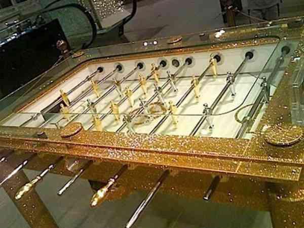 黄金足球桌,来比一场吧!
