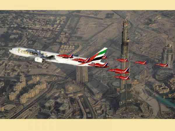 在杜拜,开私人飞机是很平常的事。