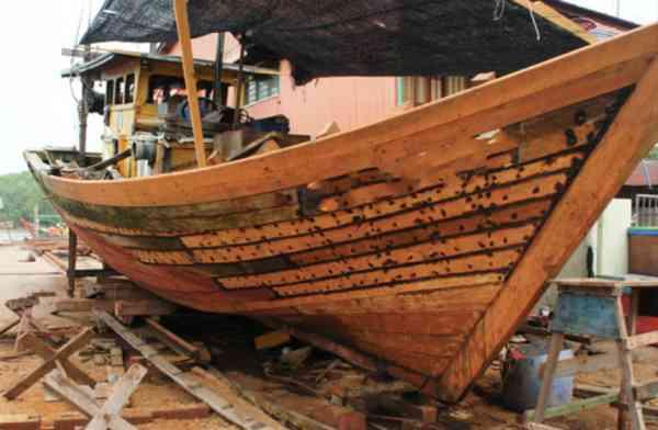 吴文光坚守造船业大半辈子,无怨无悔。
