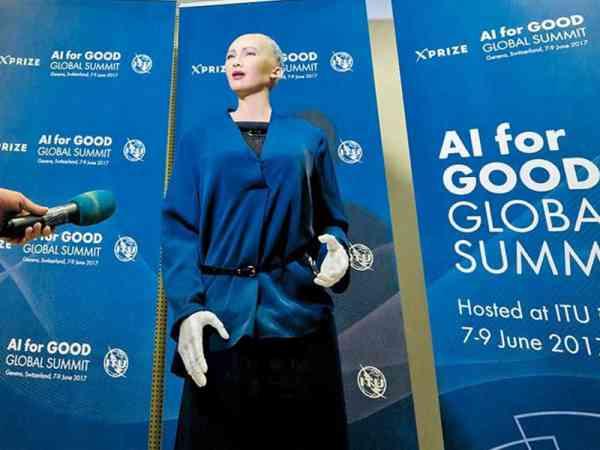 机器人索菲亚是历史上首个获得公民身份的一名女机器人。
