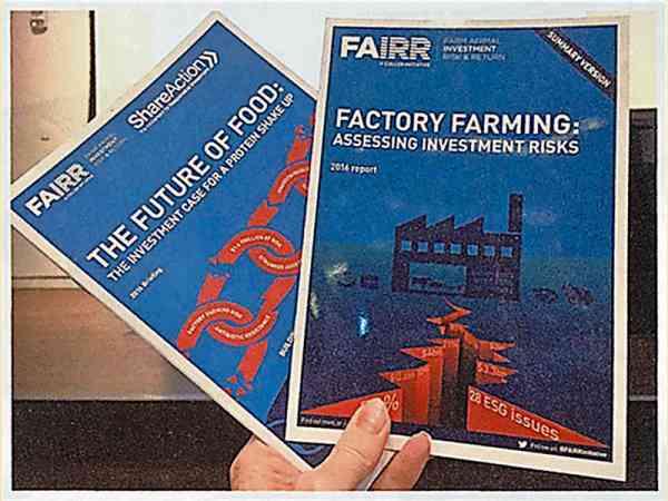"Fairr曾发布一份有关食肉危害环境的研究报告,该机构预言五至十年内就有""食肉税""面世。"