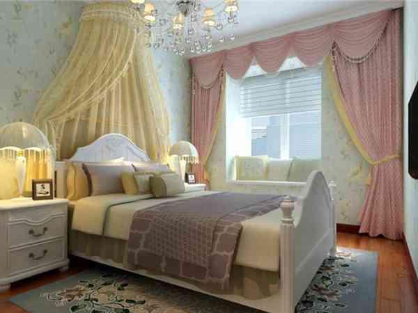 单身女性可以用粉红色窗帘,但若已婚女性,则最好避免在房中使用粉色窗帘。