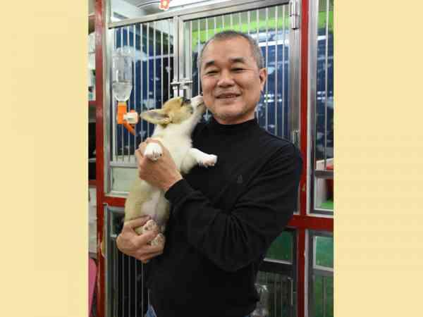 顾定亨表示,光復南路为宠物店集中点,来到这里便可知道宠物流行趋势。