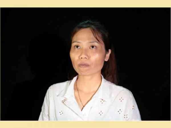 整容前的Nguyen Hoang Oanh。