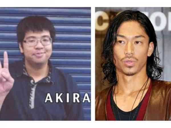 网友误传AKIRA小时候的胖照。