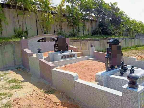 拾金后,吴家两老的遗骨重新迁葬至吴氏家族福地,与儿子(吴君)同眠乐土。