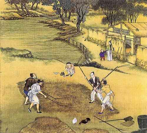 战国时期的经济学家管仲认为,当官的买房就要靠宫城,如果是做务农的,房子就要接近田地。