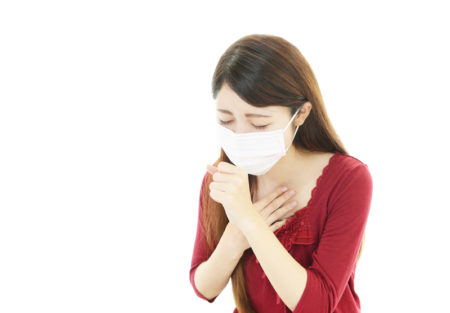 風邪の患者