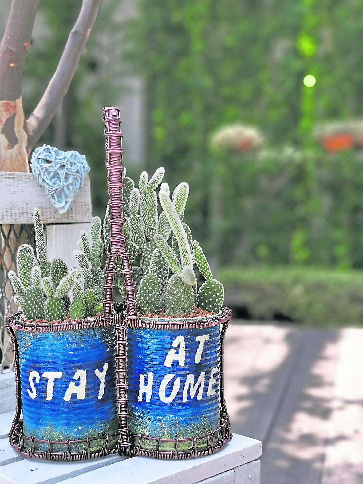 STAY AT HOME: 当环保铝罐遇上了铝线手作。