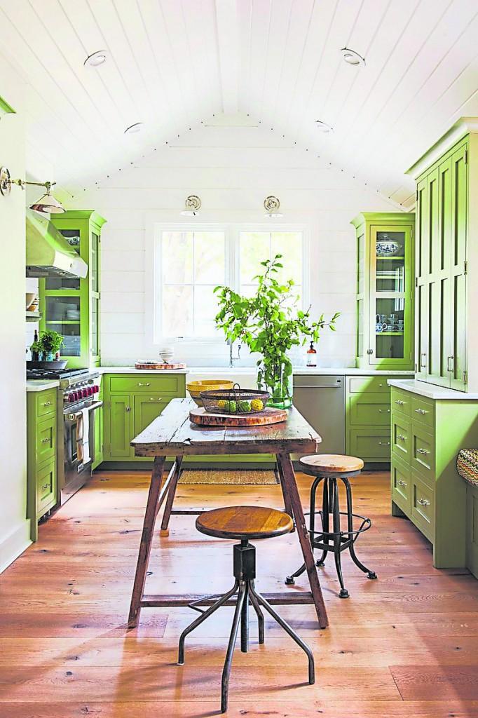 厨房重地,颜色搭配大有讲究。