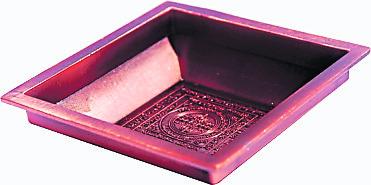 四方型烟供盘(3寸半)