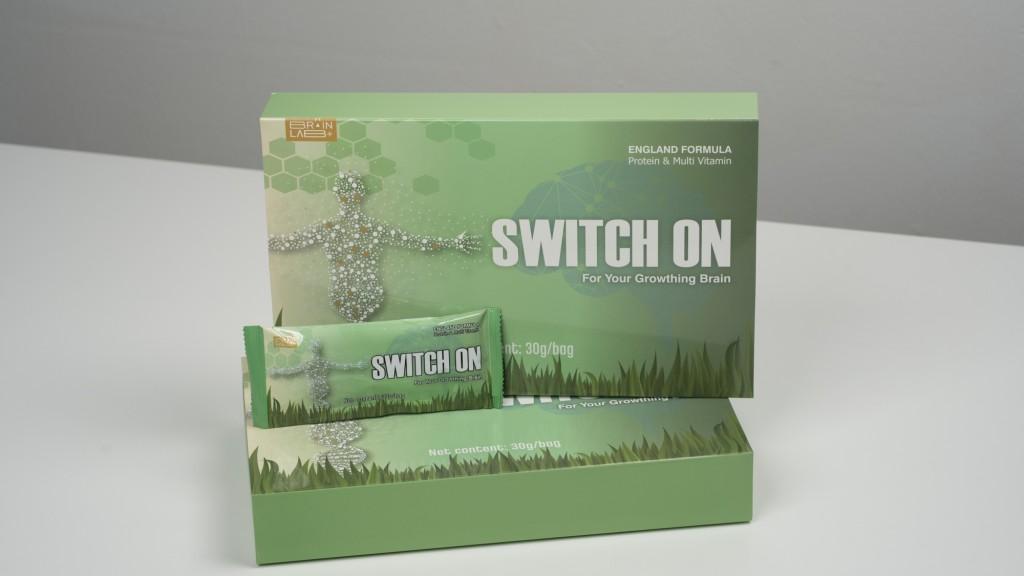 Switch On能够针对大人及小孩的大脑,给予充足的营养补给,让大脑一直处于最佳状态。