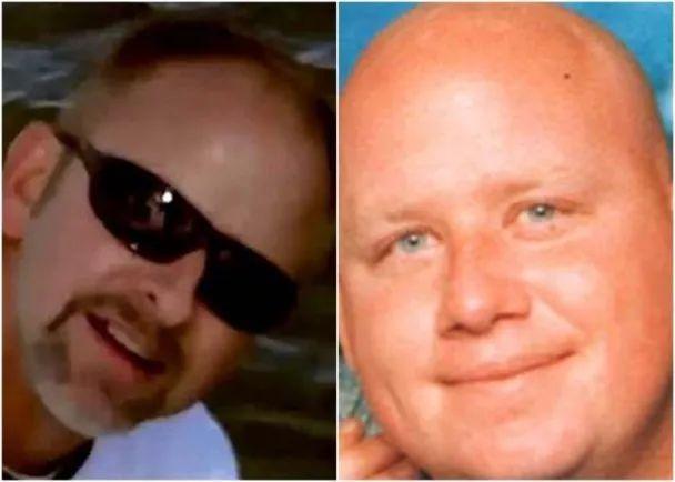 情人里根(左图)及丈夫杰森(右图)均死于科克兰手上。
