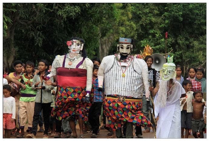 亡人节是柬埔寨重要的传统节日。