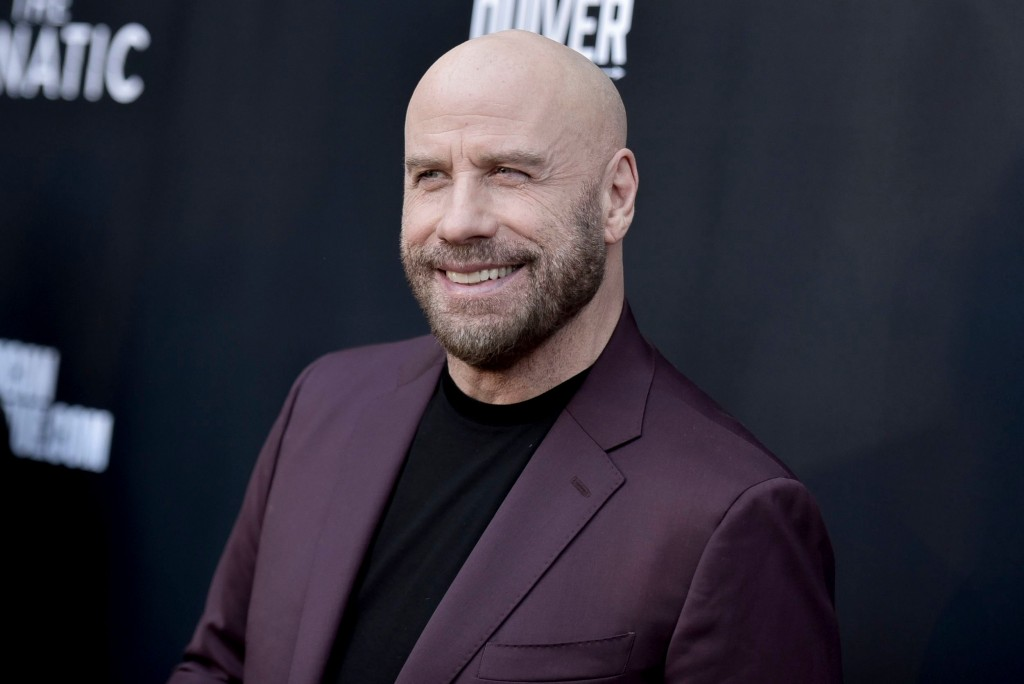 """Mandatory Credit: Photo by Richard Shotwell/Invision/AP/Shutterstock (10369663r) John Travolta attends the LA premiere of """"The Fanatic"""" at the Egyptian Theatre, in Los Angeles LA Premiere of """"The Fanatic"""", Los Angeles, USA - 22 Aug 2019"""