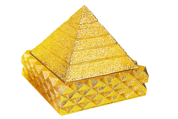 镀金24K至尊富贵9金字塔