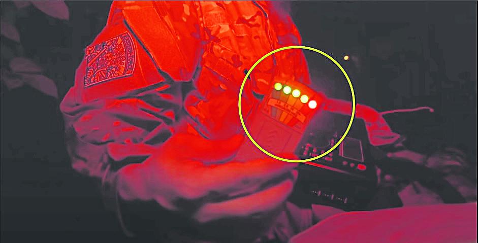 004K2电磁场探测器全亮,表示灵体能量巨大。