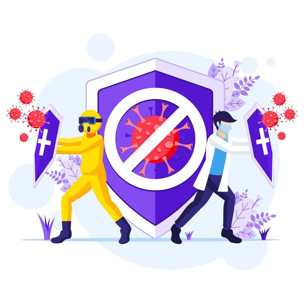 防疫要靠内外保护,除了戴口罩、勤洗手、保持社交距离等措施之外,尤其要提升身体保护力,才能有效避免细菌病毒入侵。