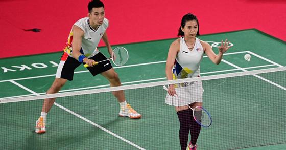 陈吴组合在比赛时状态不理想,无法杀出重围。