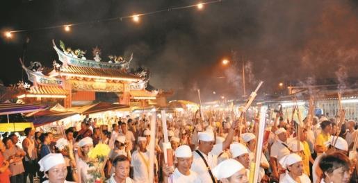 安邦南天宫万人热庆九皇爷诞,但受疫情影响,今年宣布再次停办庆典。