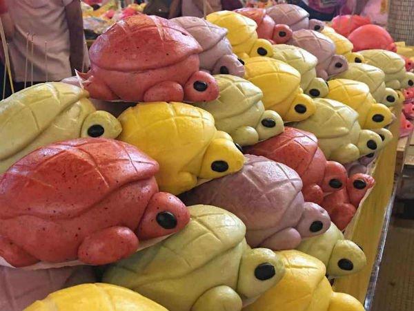 霹雳州冷甲,还出现黄色的番薯龟包。