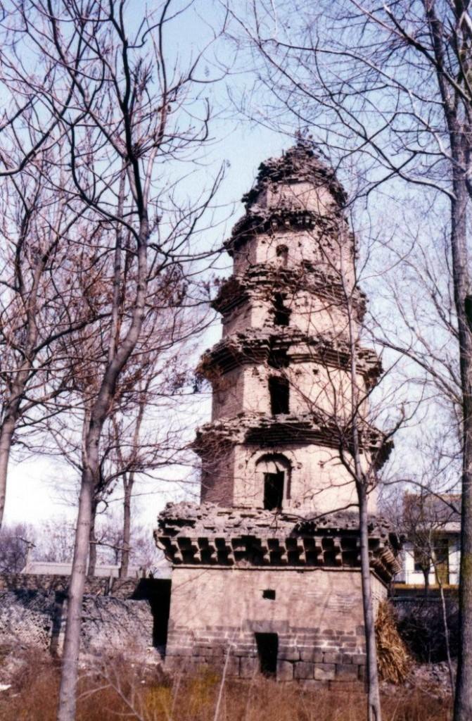 保宁寺塔位于山西省运城市闻喜县。