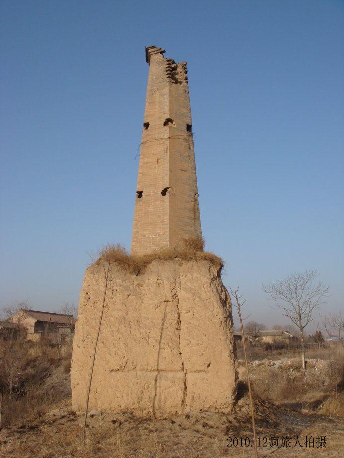 山西省运城市闻喜县西阜砖塔。