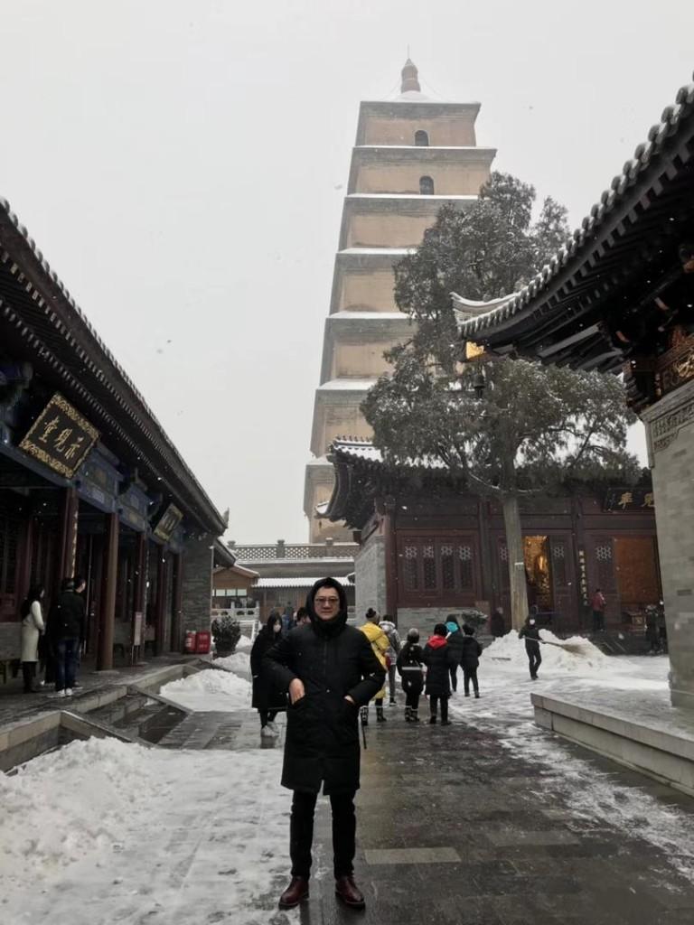 大雁塔位于陕西省西安市雁塔区的大慈恩寺内。