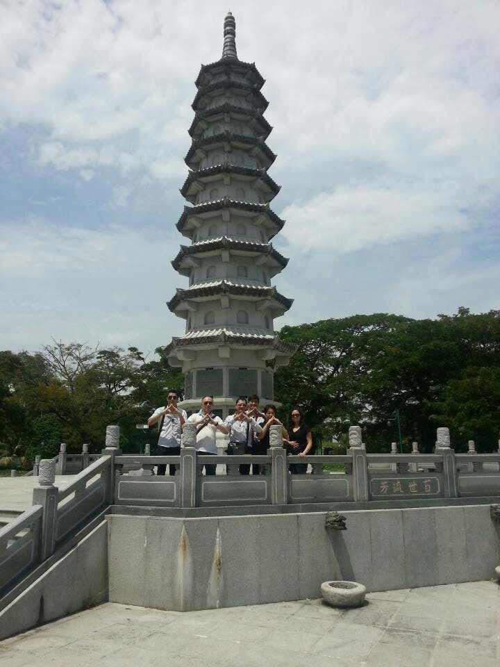 东马诗巫的吉祥文昌塔。