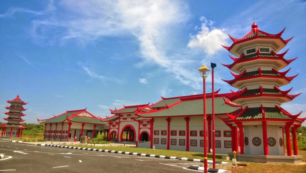 马六甲华人清真寺。